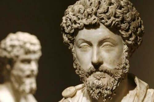 Un buste de Marc Aurèle