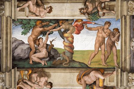 Un tableau de Michel-Ange sur la pudeur