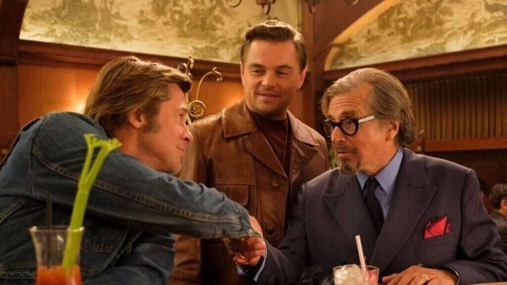 Une scène de Il était une fois à Hollywood
