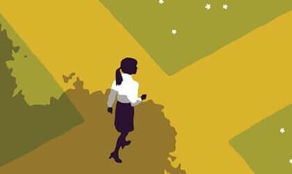 Une femme à la croisée des chemins