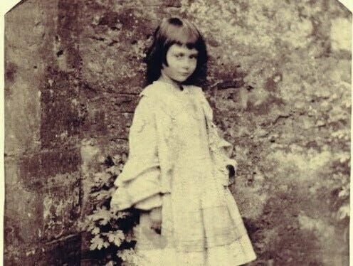 Une photo d'Alice Liddell prise par Lewis Carroll