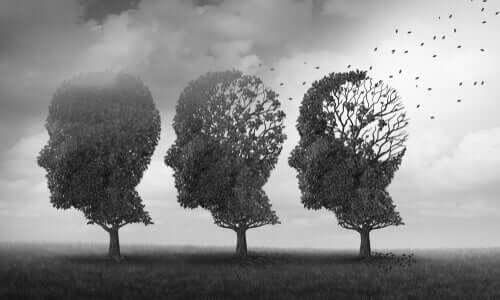 Des arbres en forme de visages