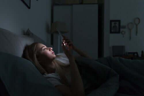 Appareils électroniques et troubles du sommeil