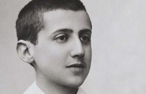 Une photo de Marcel Proust enfant