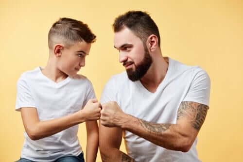 Gagner le respect de votre enfant en établissant une complicité