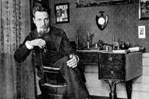 Une photo de Rainer Maria Rilke