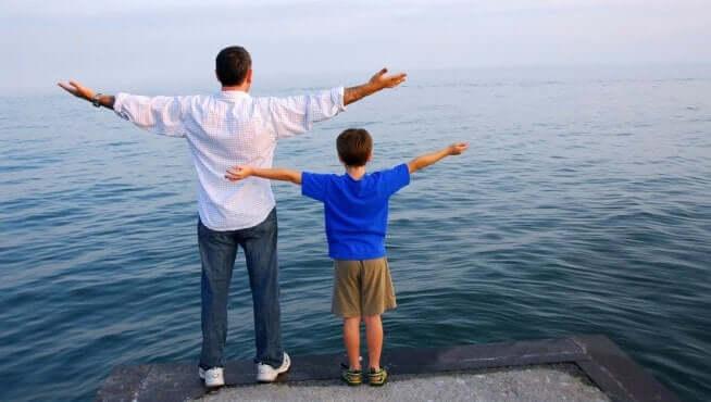 Les enfants imitent leurs parents