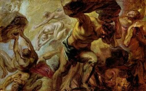 La chute des Titans de Rubens