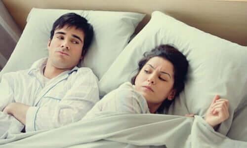 Se coucher en étant en colère : une mauvaise habitude