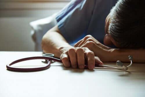 Les professionnels de la santé sont sujets au burnout