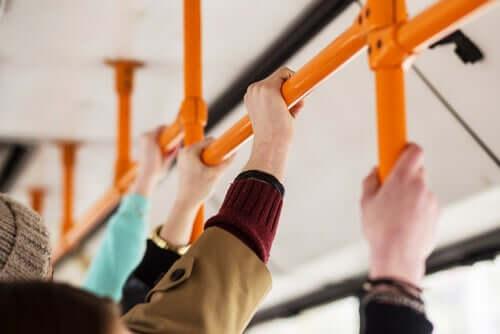Le frotteurisme dans les transports en commun