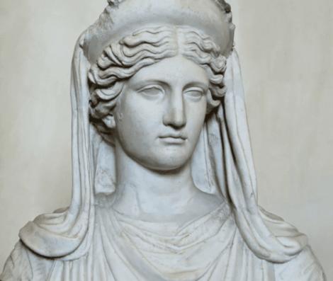 Le buste de Déméter