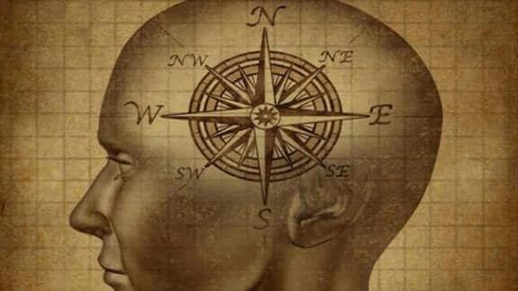 La boussole du cerveau mental
