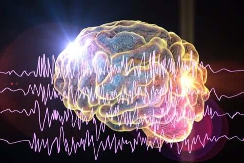Le cerveau d'une personne en pleine crise d'épilepsie.