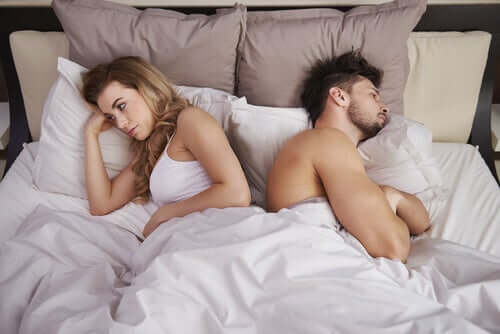 Les disputes de couple au lit