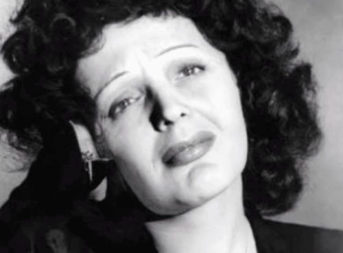 Un portrait d'Edith Piaf