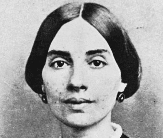 Emily Dickinson, une grande poétesse.