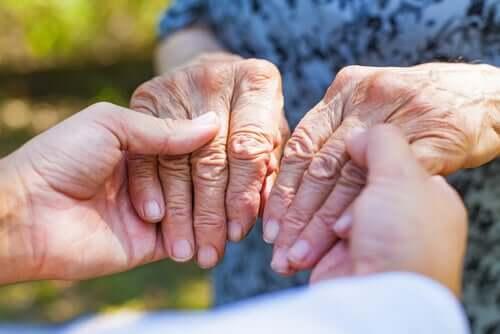 Ma grand-mère qui souffrait d'Alzheimer riait beaucoup
