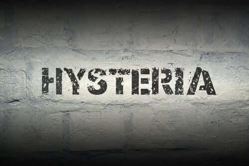 La crise d'hystérie