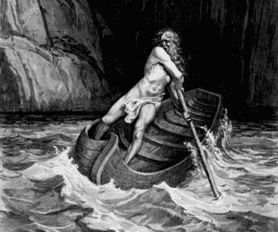 Le mythe de Charon, le batelier des enfers
