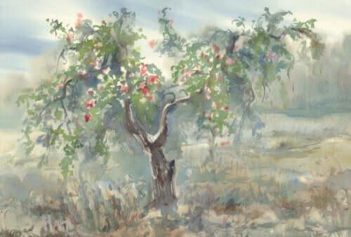Le dessin d'un arbre