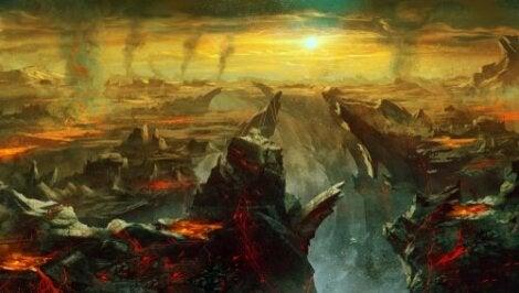 Le mythe de Charon et des enfers
