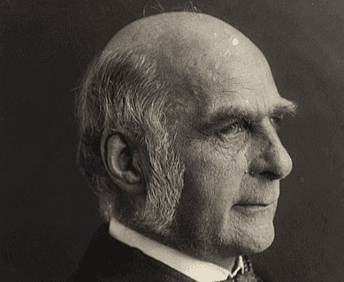 Un portrait de Francis Galton