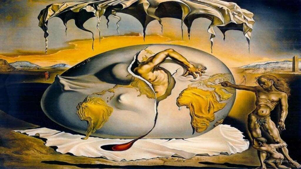 Une oeuvre de Salvador Dali