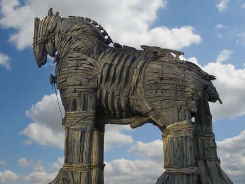 La légende d'Ulysse et le cheval de Troie