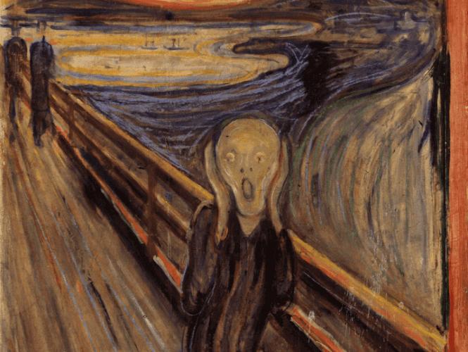 Edvard Munch, peintures d'amour et de mort