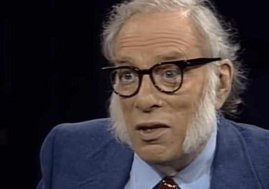 Isaac Asimov parlant de la psychohistoire
