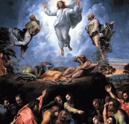 La Transfiguration, oeuvre de Raphaël Sanzio pendant la Renaissance.