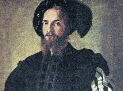 Une peinture de César Borgia.