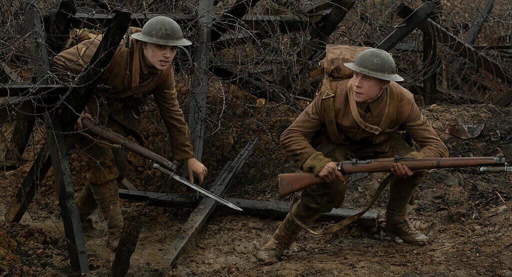 Image tirée du film 1917.
