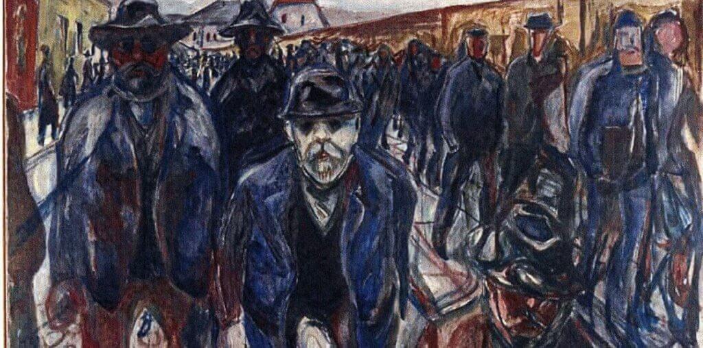 Un tableau d'Edvard Munch