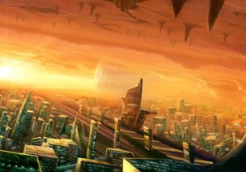 Une ville apocalyptique