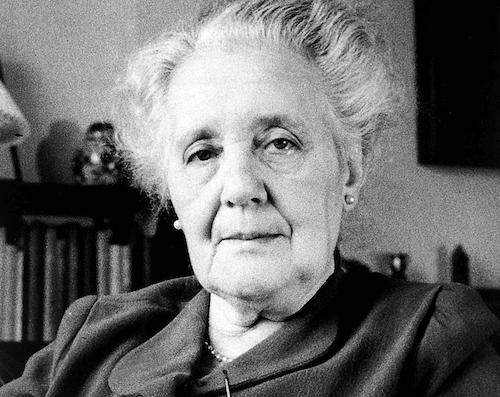 Mélanie Klein, une figure importante dans le monde de la psychanalyse.