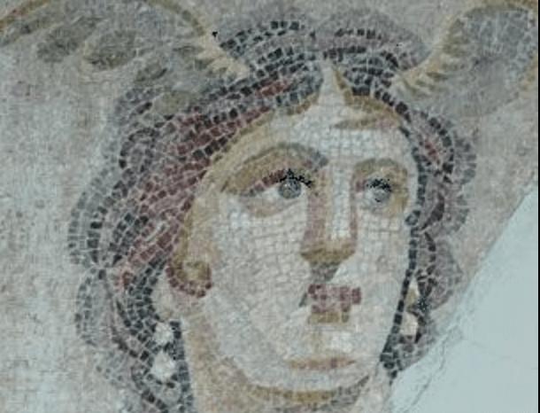 Une mosaïque de Chiron