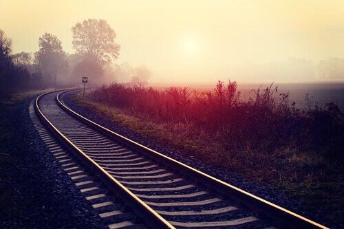 Un chemin de fer représentant les projets
