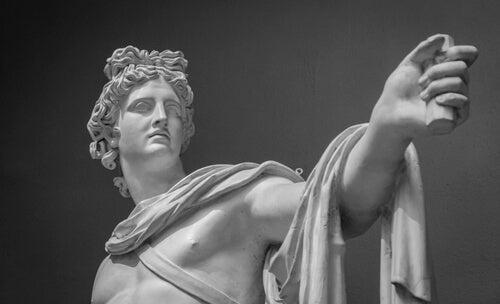 Le mythe des muses et Apollon.