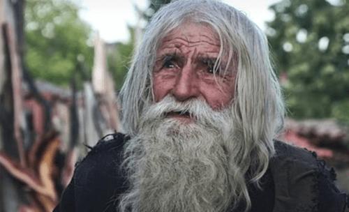Grand-père Dobri, un mendiant bienfaiteur