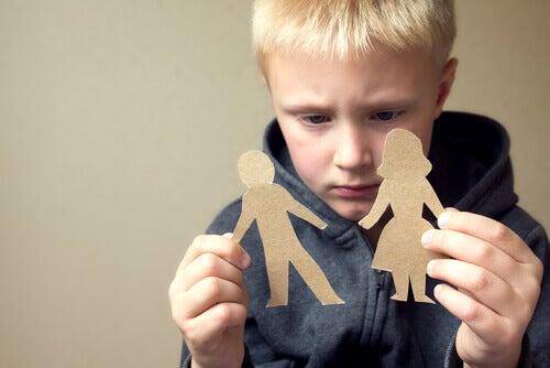 Un enfant en garde alternée