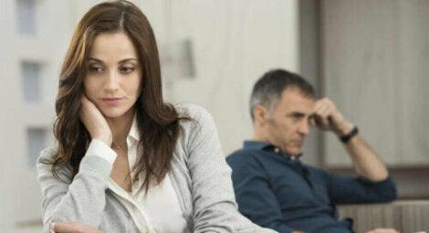 Les crises dans un couple stable peuvent créer des conflits