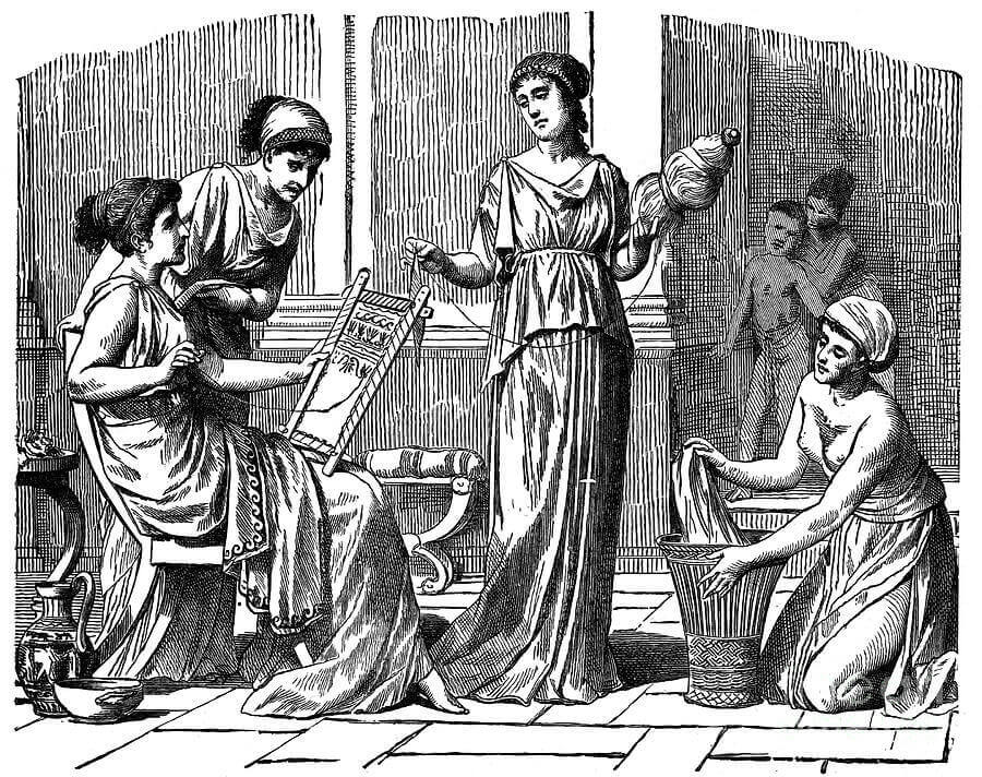 Métrodora, une femme de la grèce antique.