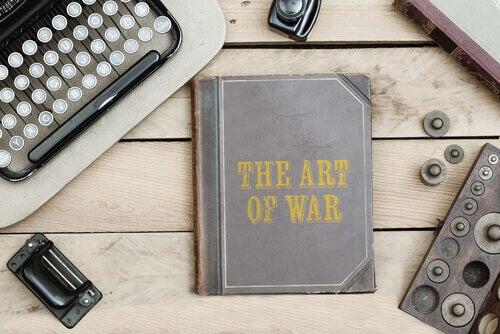 La couverture anglaise de l'Art de la guerre de Sun Tzu