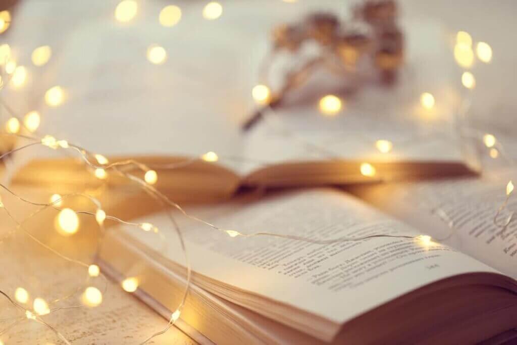 un livre illuminé