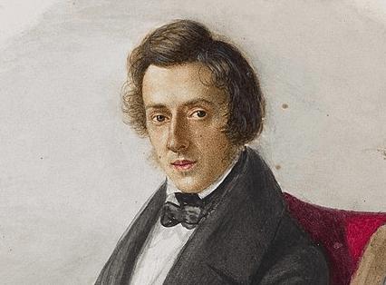 Un portrait peint de Chopin