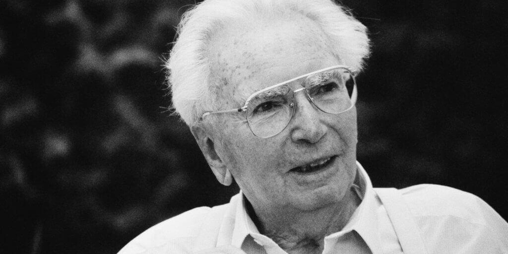 Un portrait de Viktor Frankl