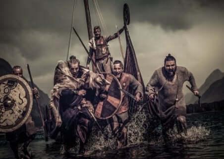 Une attaque de Vikings