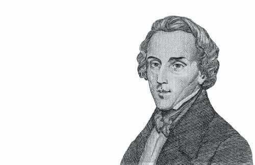 Une illustration de Frédéric Chopin.